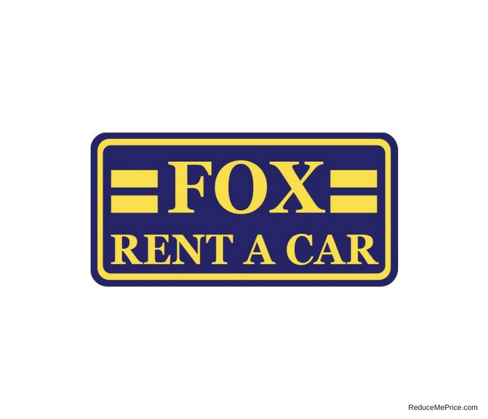 Fox Rent A Car Coupon Codes and Discount Deals